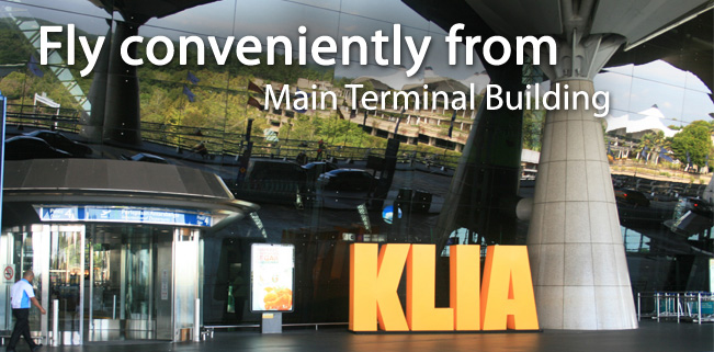 Fly Conveniently From KLIA Terminal