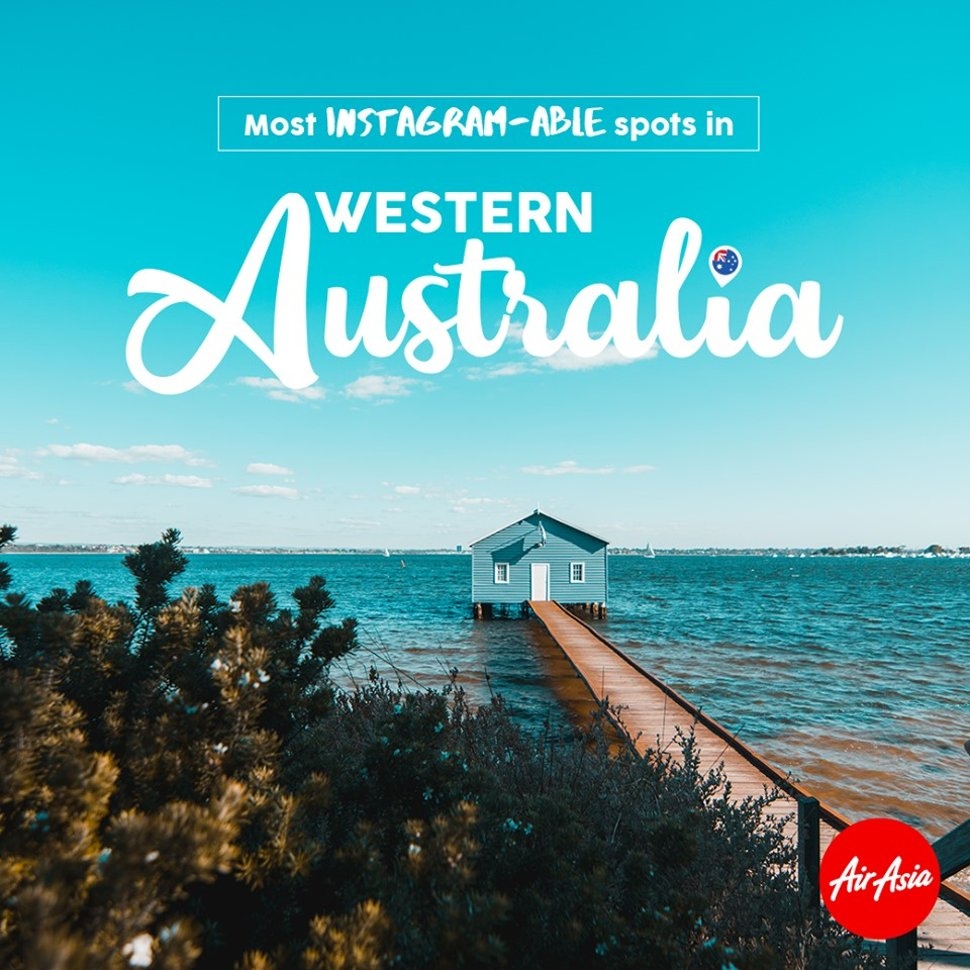Most INSTAGRAM-ABLE spots in Western Australia