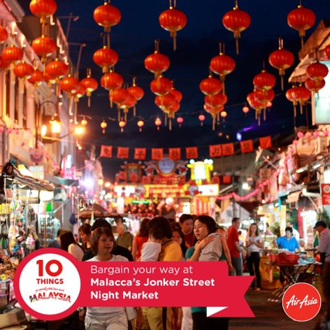 Bargain your way at Malacca's Jonker Street Night Market
