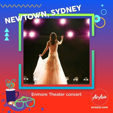 Enmore Theater concert