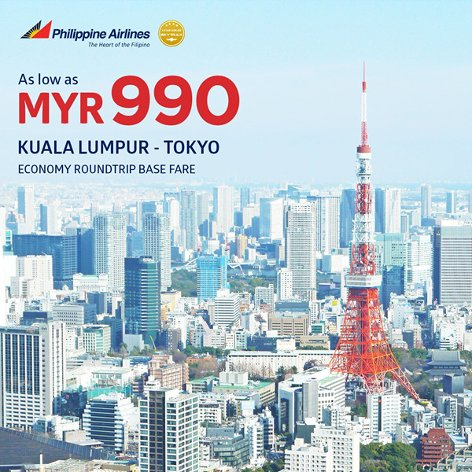 From Kuala Lumpur to Tokyo, from MYR999