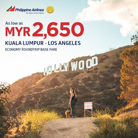 From Kuala Lumpur to Los Angeles, from MYR2650