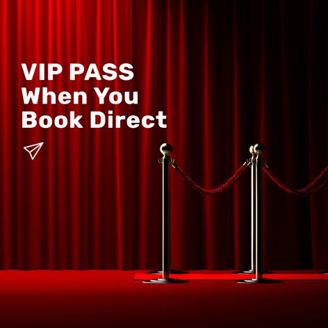 Exclusive VIP passes for Day Use Rooms