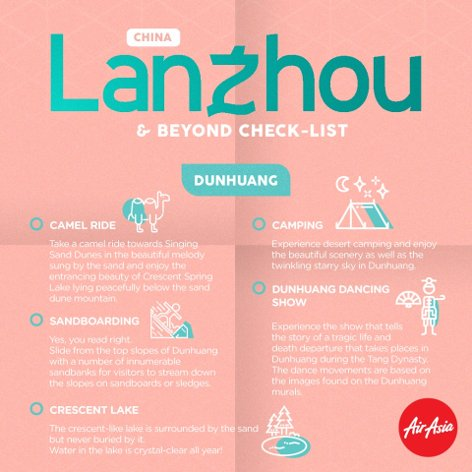 Landzhou & beyond check-list