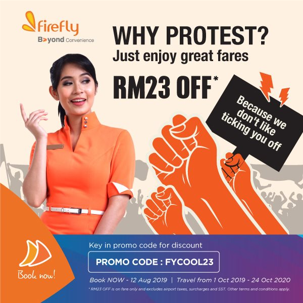 Enjoy Great Fares, RM23 Off*