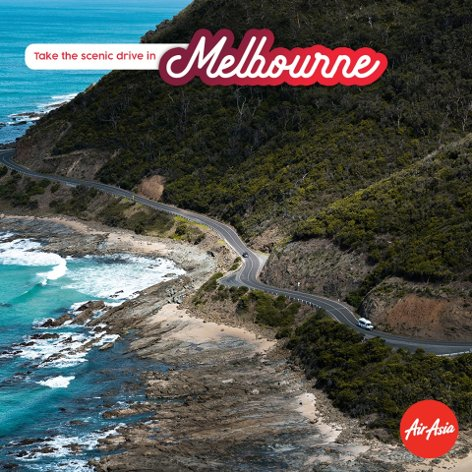 Take the scenic drive in Melbourne