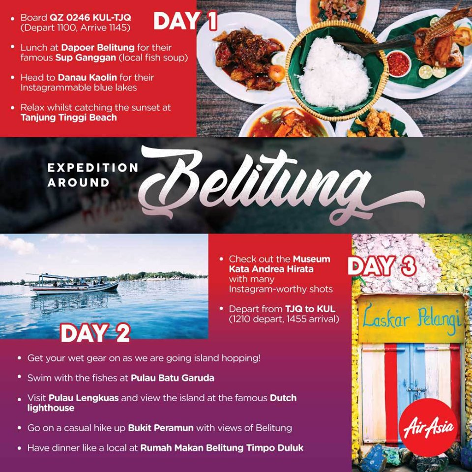 Expedition around Belitung