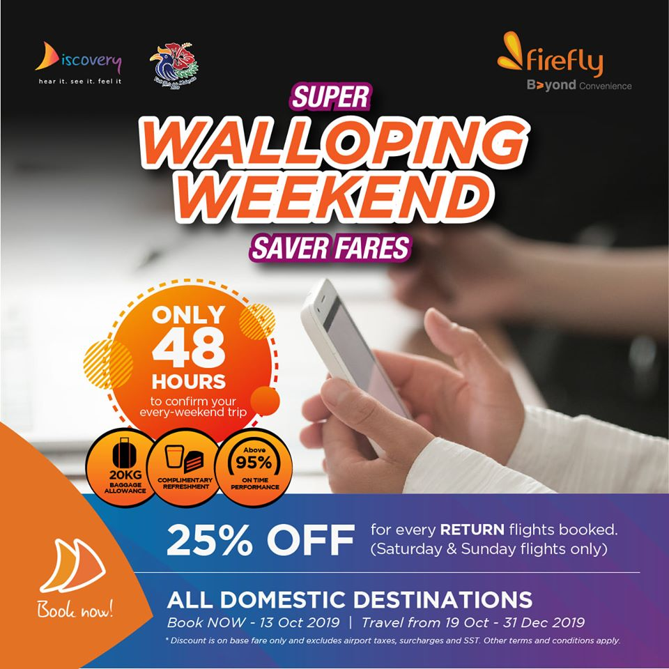 Super Walloping Weekend Saver Fares