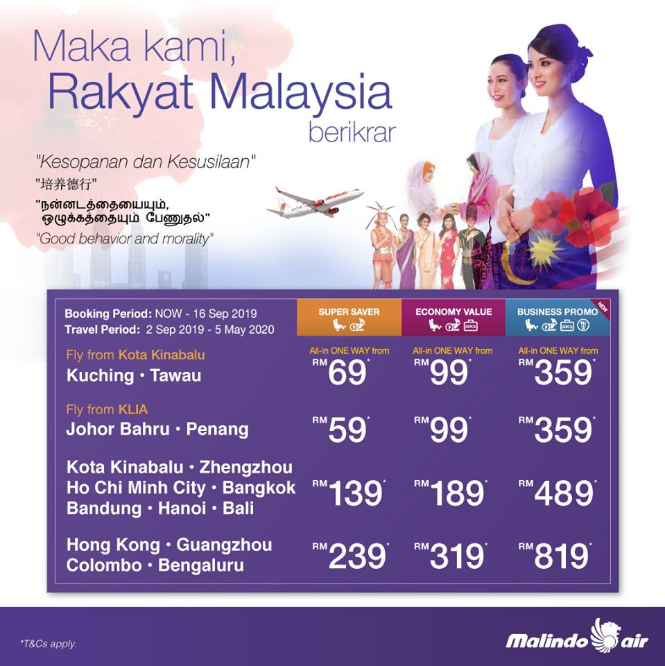 Malaysia Day Promotions