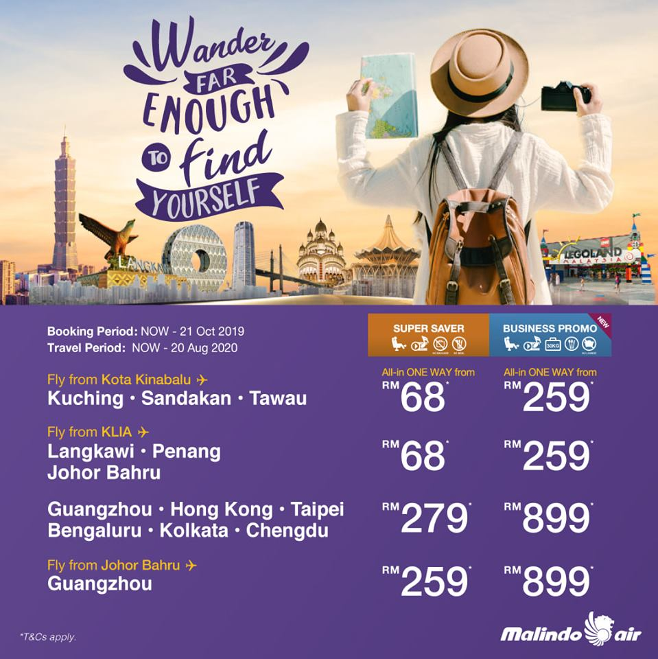 Fly Business Class from RM259