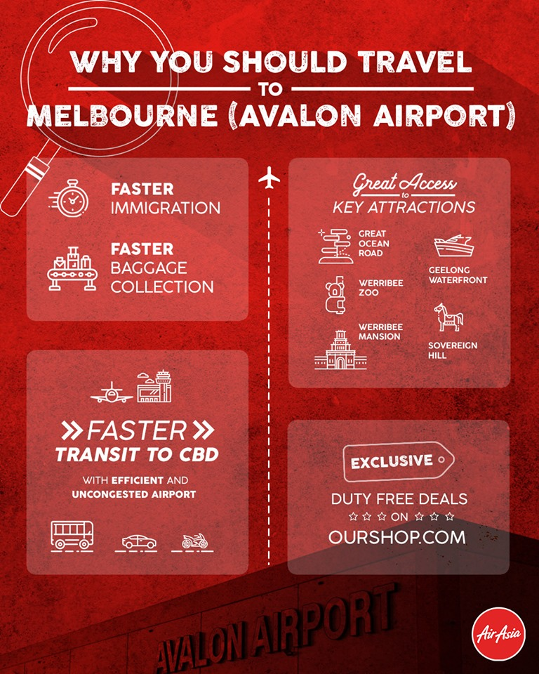 Why you should travel to Melbourne (Avalon Airport)