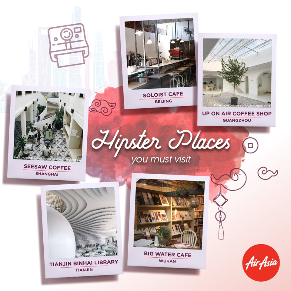 Hipster places you must visit