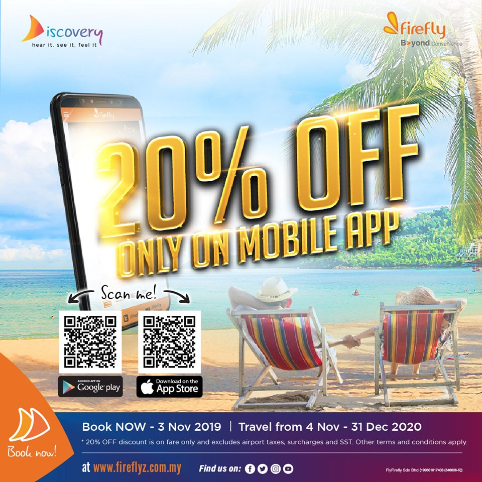 20% on Mobile App