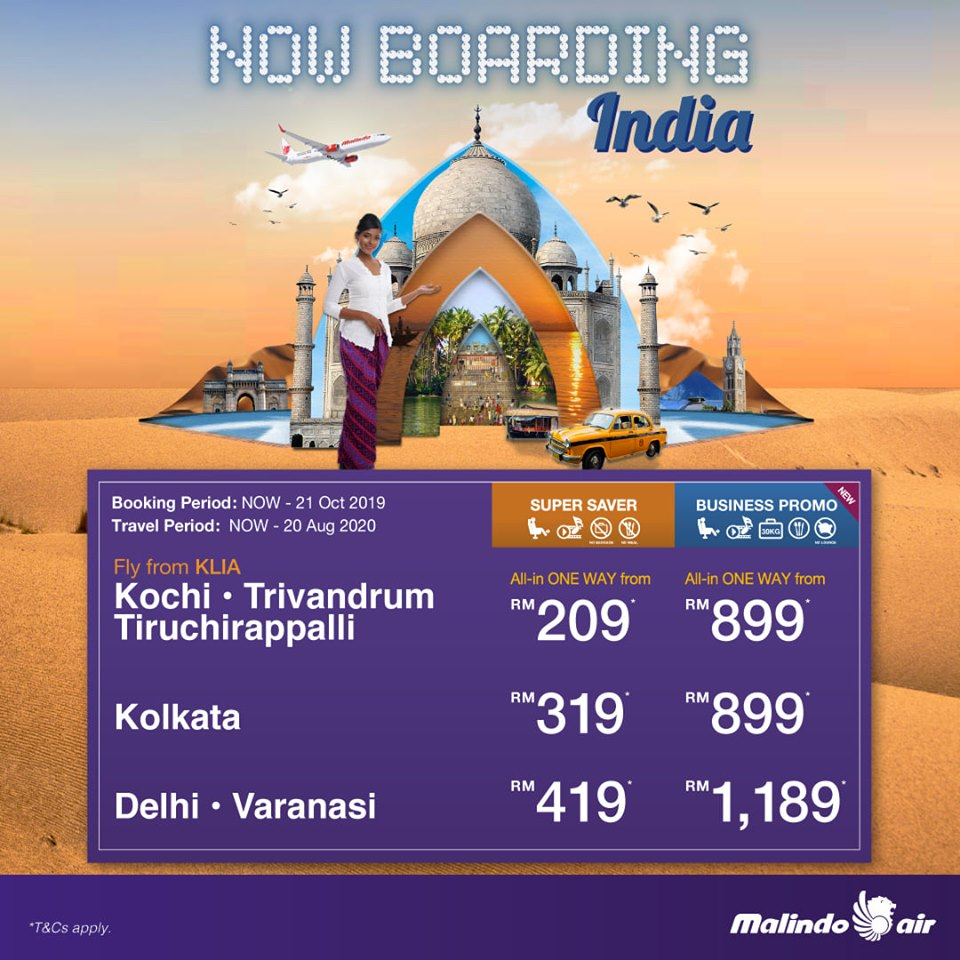 Now Boarding India
