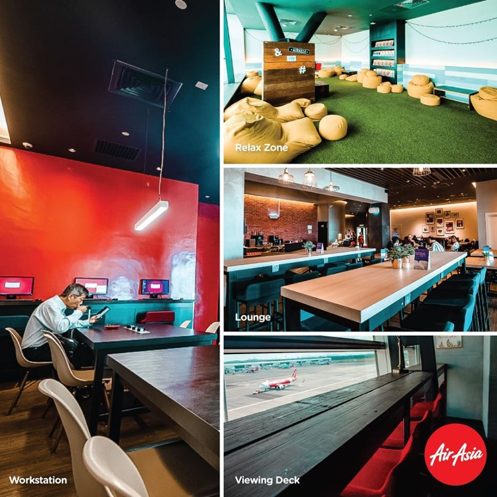 AirAsia Premium Red Lounge