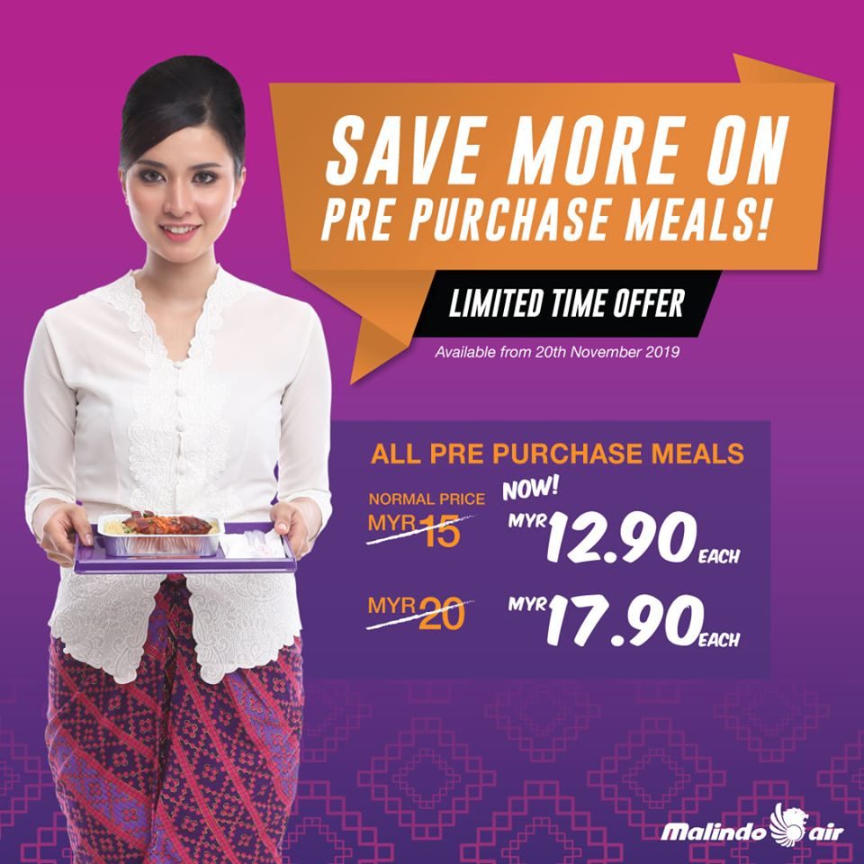 Delicious meals from RM12.90