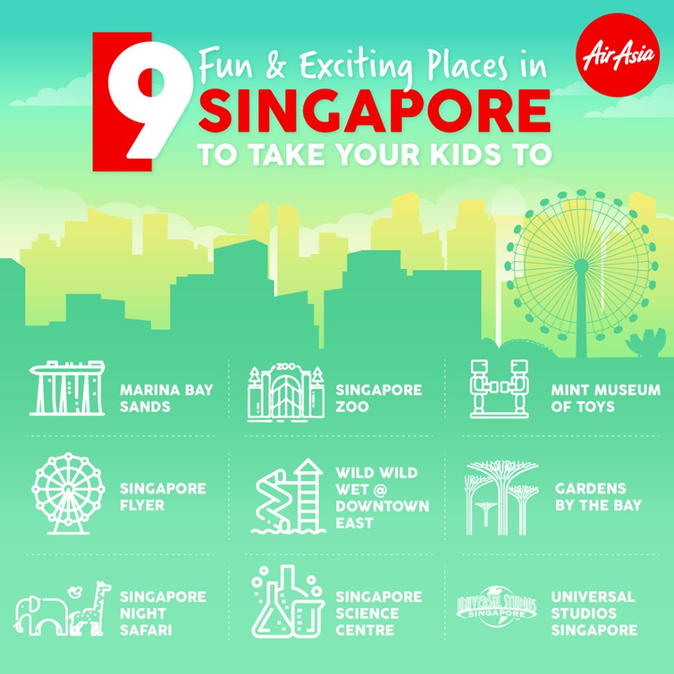Family-friendly fun spots in Singapore
