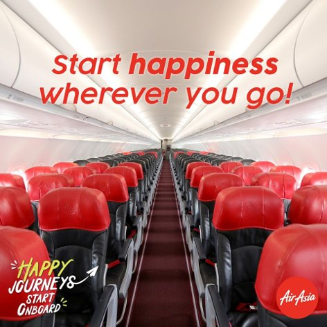 Start happiness wherever you go!