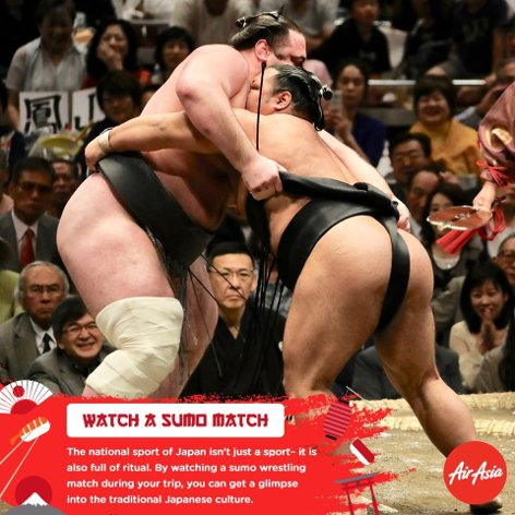 Watch a sumo watch