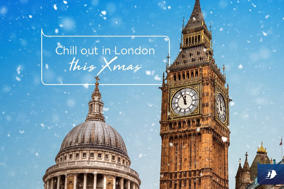 Chill out in London this X'mas