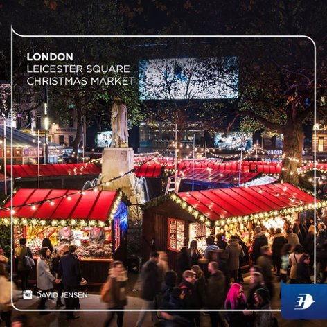 Leicester Square Christmas Market, London