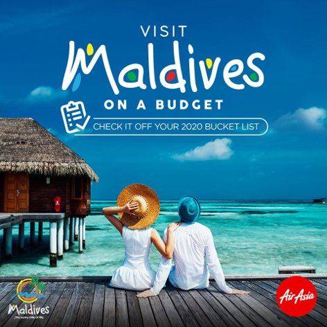 Visit Maldives on a budget
