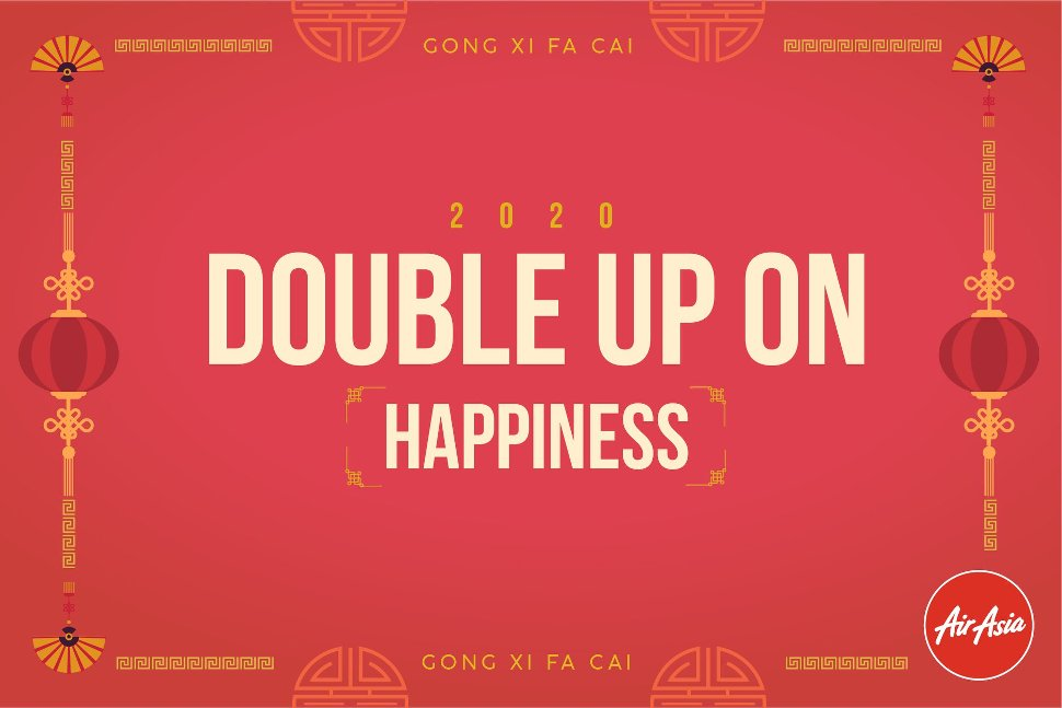 Double up on happiness