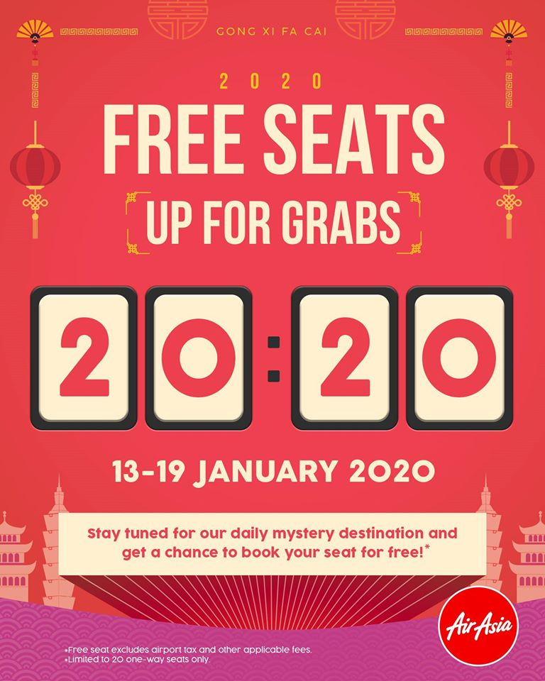 Free seats up for grab