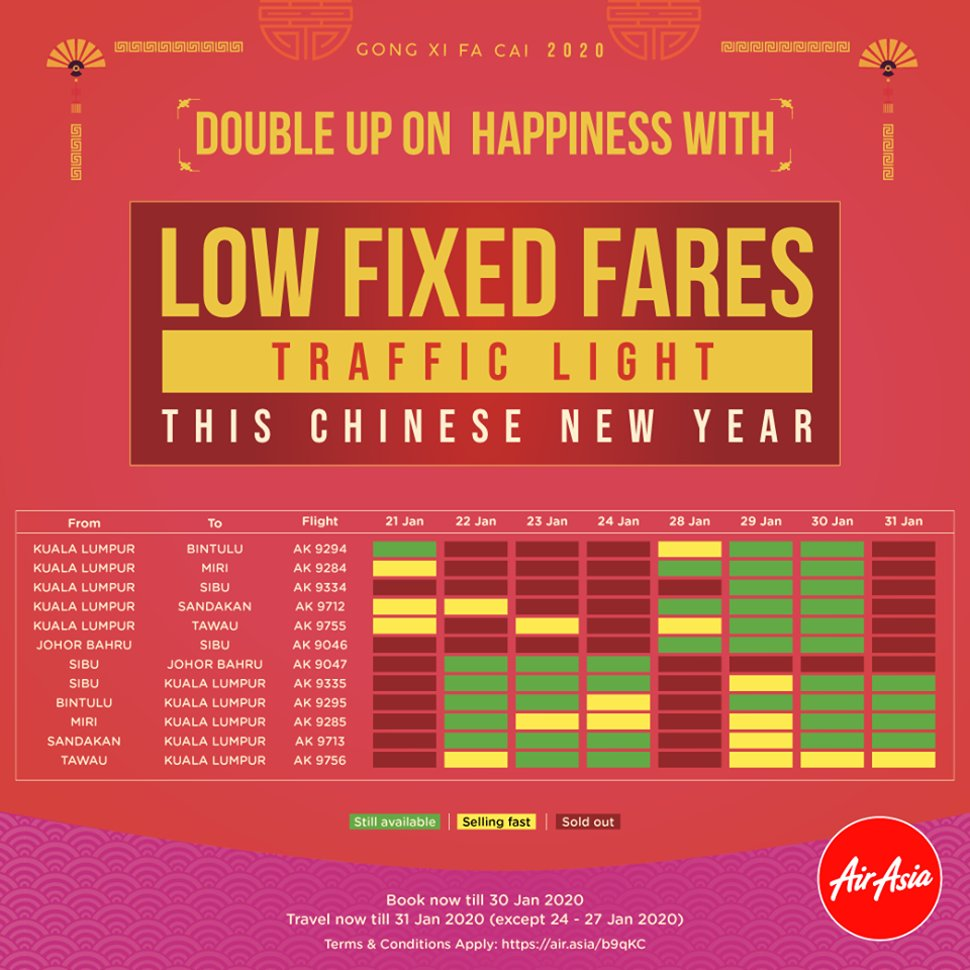 Low Fixed Fares Updates