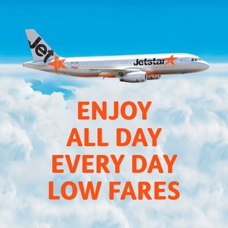 Jetstar Asia, all day everyday low fares