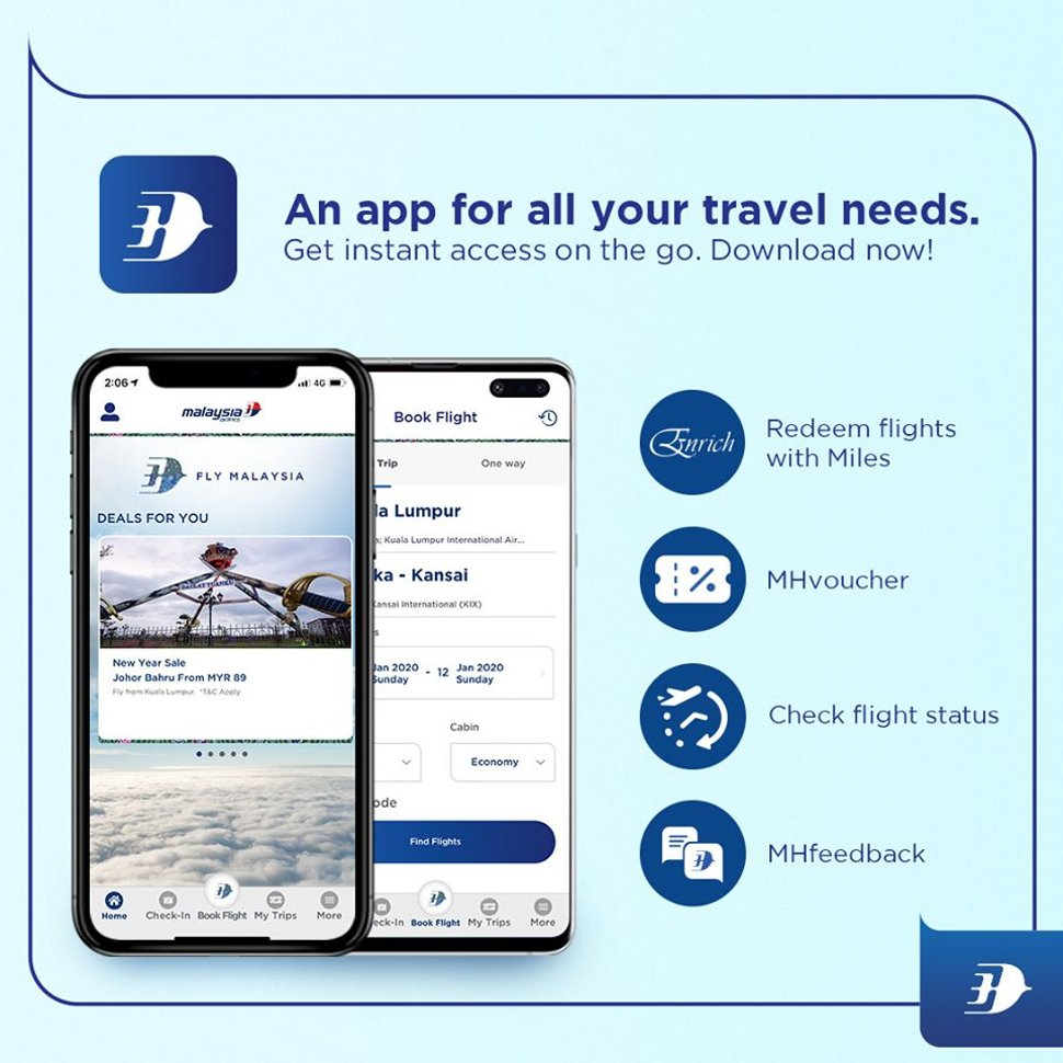 Malaysia Airlines App