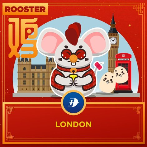 Rooster - London