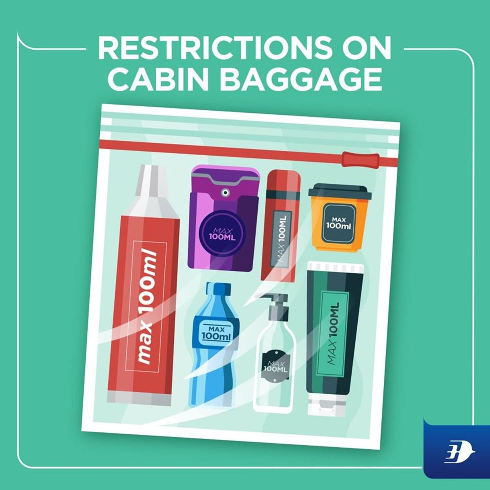 Restrictions on cabin baggage