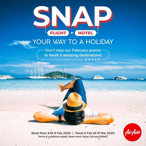 SNAP - Your way to a holiday