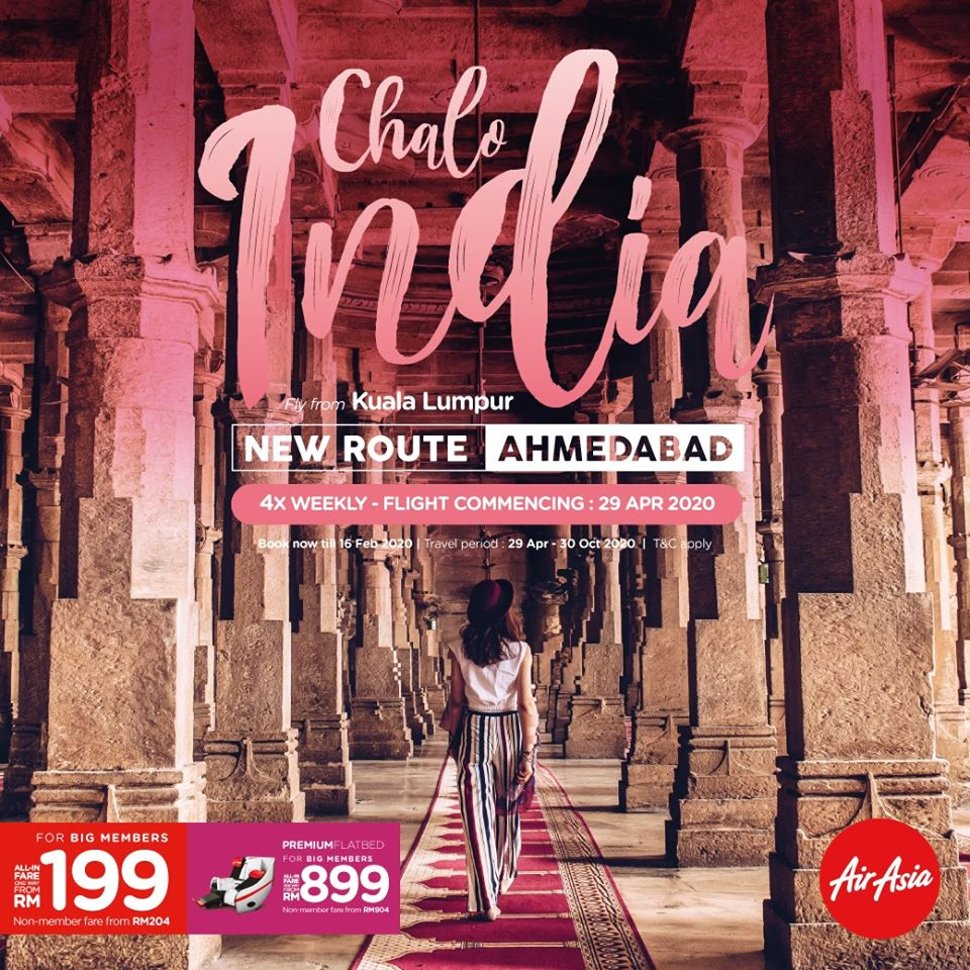 New Route - AHMEDABAD