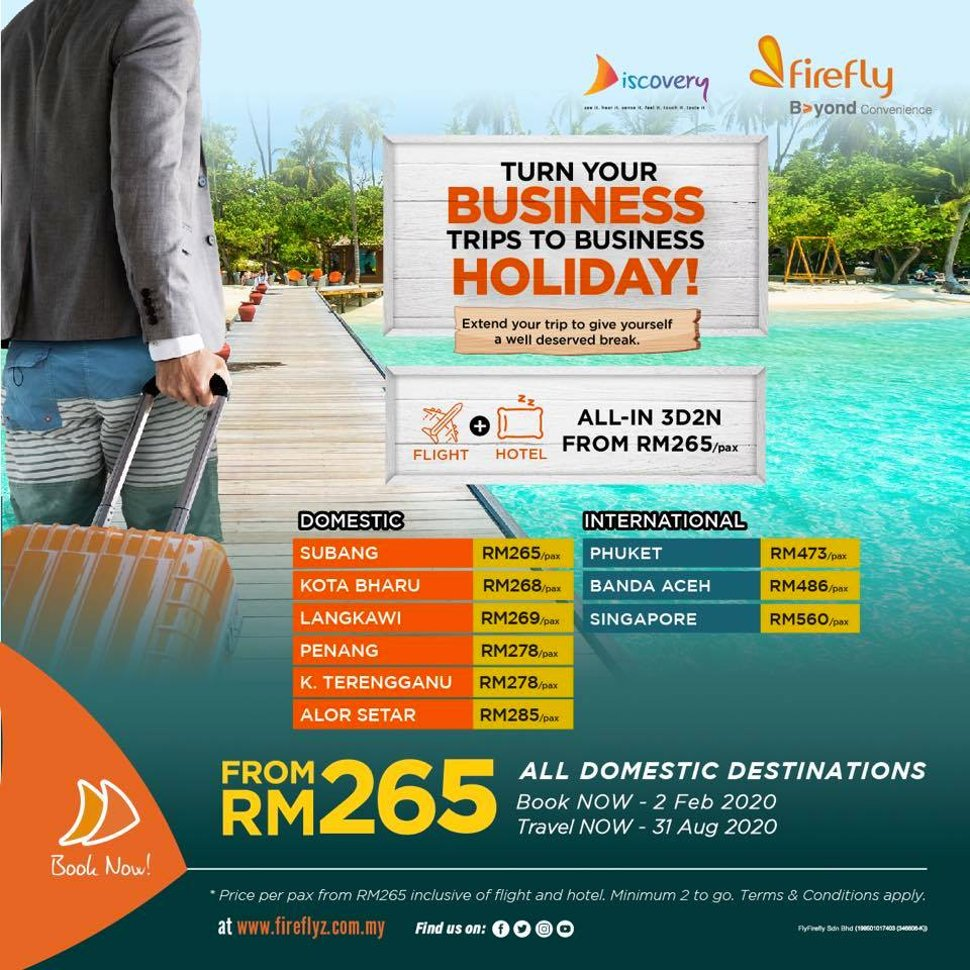 Turn your business trips to business holiday
