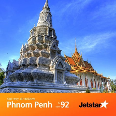 Phnom Penh, from $92