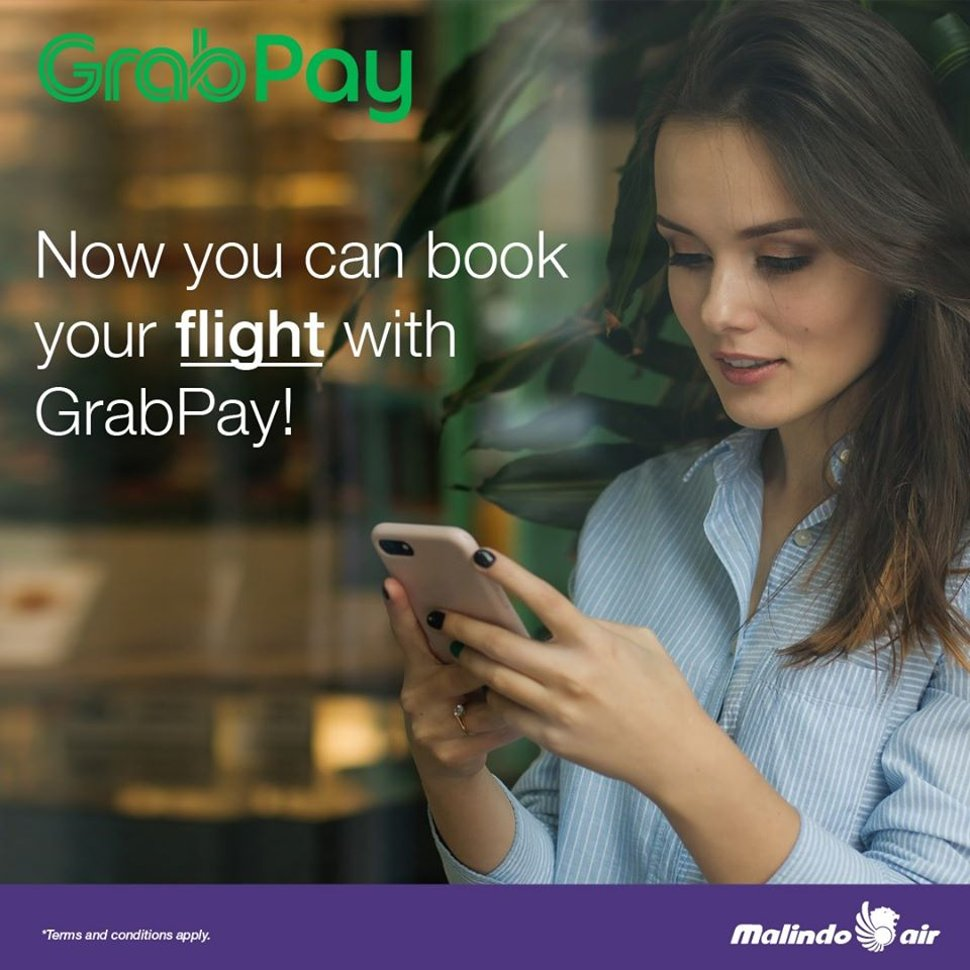 GrabPay - Now you can book your flight with GrabPay!