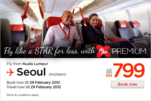 AirAsia Promotion - Fly Like A Star