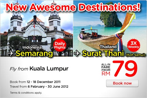 AirAsia Promotion - New Awesome Deistinations