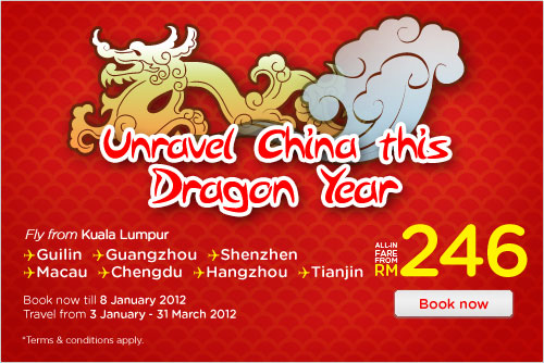 AirAsia Promotion - Unravel China
