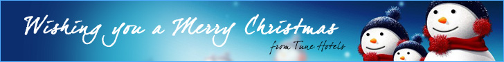 TuneHotels Promotion - Wishing you a Merry Christmas