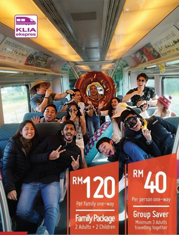 KLIA Ekspres Family Package!