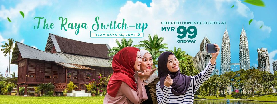 Celebrate Hari Raya alongside your loved ones