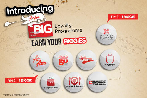 AirAsia Promotion - Earn Your Biggies
