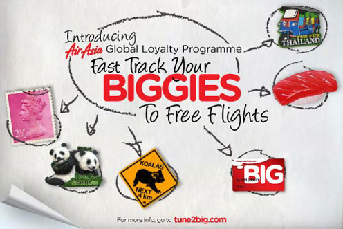 AirAsia Promotion - BIG Loyalty Program