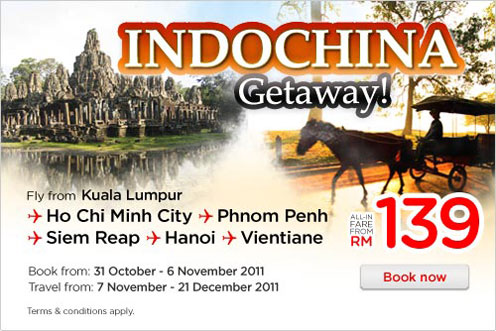 AirAsia Promotion - IndoChina Getaway