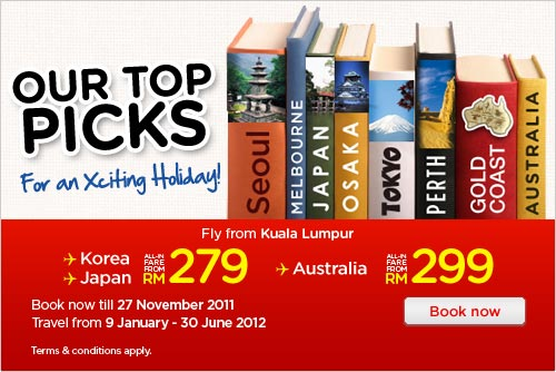 AirAsia Promotion - Top Picks