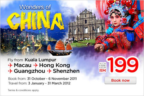 AirAsia Promotion - Wonders of China