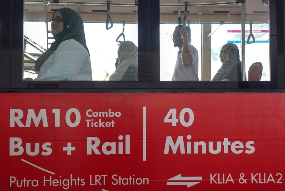 RM10 Combo Ticket, Bus + Rail